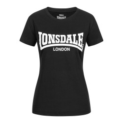 Lonsdale T-Shirt Women Cartmel Black