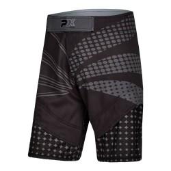 Phoenix PX MMA Shorts Black Grey