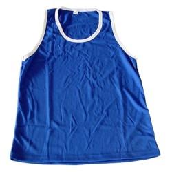 Boxerhemd Blau Weiss