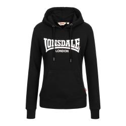 Lonsdale Hoody Women Flookburgh Black