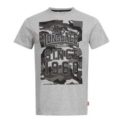 Lonsdale T-Shirt Storth Marl Grey
