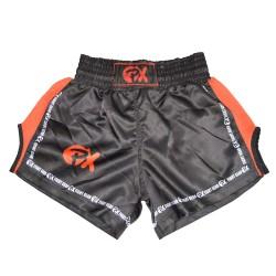 Phoenix PX Dynamic Thai Shorts Schwarz Rot Mesh