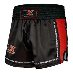Phoenix PX Dynamic Thai Shorts Black Red Mesh