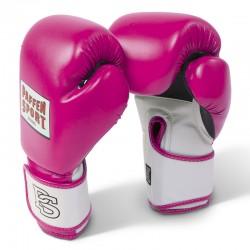 Paffen Sport Fit Line Pink Mesh Boxhanschuhe Training