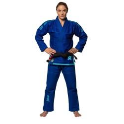 Fuji Sports Sekai BJJ Gi Blue Teal Women