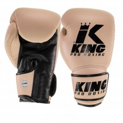 King Pro Boxing Boxhandschuh Star 9 Beige Brown