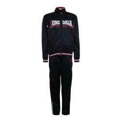 Abverkauf Lonsdale Cormick Herren Tricot Trainingsanzug Black