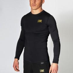 Leone 1947 Compression Shirt LS ESSENTIAL Black