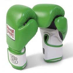 Paffen Sport Fit Line Grün Mesh Boxhanschuhe Training