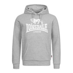 Lonsdale Hoody Fremington Marl Grey