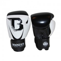 Booster Pro Siam 1 Boxing Gloves Leather White