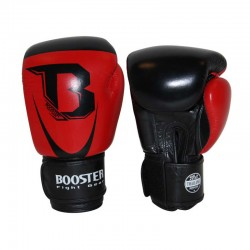 Booster Pro Siam 2 Boxing Gloves Leather Red