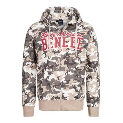 Benlee Bathurst Sweatjacke Camo Grey