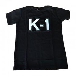 K1 T-Shirt Schwarz Rundhals
