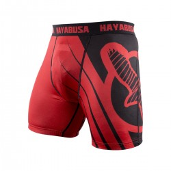 Abverkauf Hayabusa Recast Compression Shorts Red Black