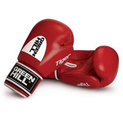 Green Hill TIGER Boxhandschuhe rot Ohne Trefferfläche