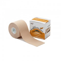 Nasara Kinesiologie Tape beige 5cm x 5m