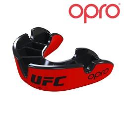 Opro Silver Zahnschutz rot schwarz