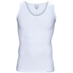 Strammer Max Men Kompression Tanktop Weiss
