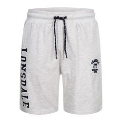 Lonsdale Shorts Knutton Marl Grey Light
