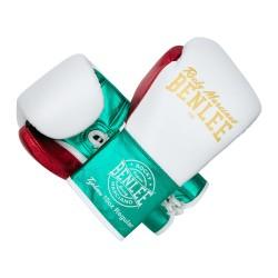 Benlee Typhoon Boxhandschuhe White Green Red