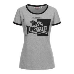 Lonsdale T-Shirt Women Uplyme Marl Grey