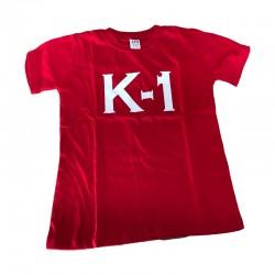 K1 T-Shirt Rot Rundhals