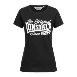 Lonsdale T-Shirt Women Birdgemere Black
