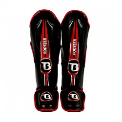 Booster Contender Shinguard Red Skintex
