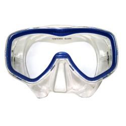 Tunturi Tauchmaske Senior Siliter Blau Transparent