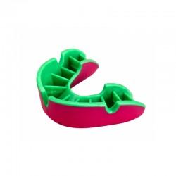 OPRO Zahnschutz Silver pink grün