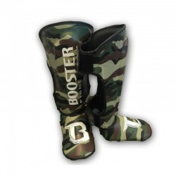 Booster Camo Shinguard Skintex Youth