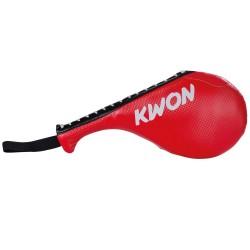 Kwon Doppel Hand Mitt rot