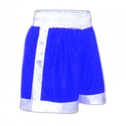 Box Shorts Blau Weiss