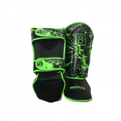 Booster Green Marble Shinguard Skintex Youth