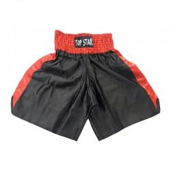 Box Shorts Schwarz Rot