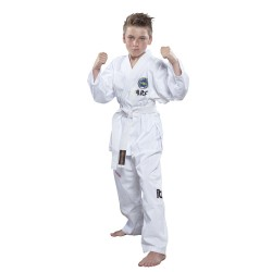 Top Ten De Luxe Taekwond-Do Dobok Weiss ITF Approved Kids