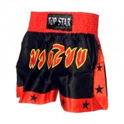 Thai Box Shorts Schwarz Rot