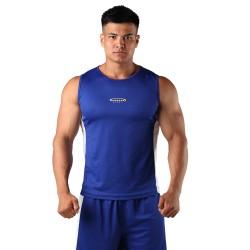 Berserk Boxing Top blau