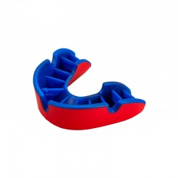 OPRO Zahnschutz Silver JR rot blau