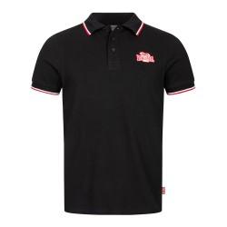 Lonsdale Polo Shirt Kellaton Black