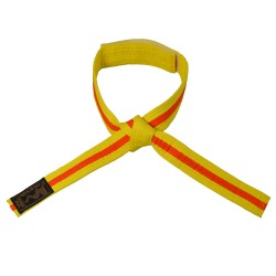 Phoenix Kinder Klettgürtel 2-farbig gelb orange