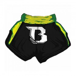Booster TBS Air Thaiboxing Fightshorts Black Neon Green