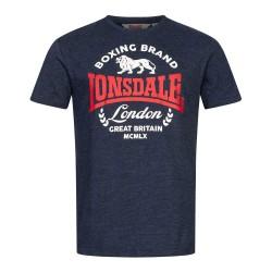 Lonsdale T-Shirt Men Waddon Marl Navy