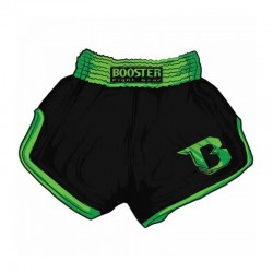Booster TBS Retro V2 Thaiboxing Fightshorts Black Green