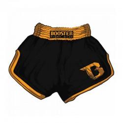 Booster TBS Retro V2 Thaiboxing Fightshorts Black Orange