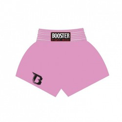 Booster TBT Plain Thaiboxing Fightshorts Pink