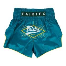 Fairtex Focus Muay Thai Shorts Green
