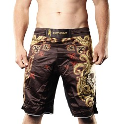 Justyfight Spade Skull MMA-Shorts