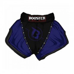 Booster TBT Pro 3 Thaiboxing Fightshorts Black And Blue